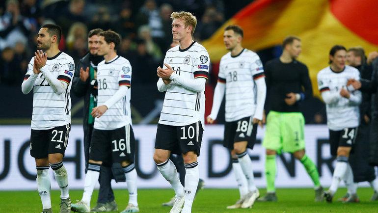 Германия— вфинальном турнире чемпионата Европы. Фото Reuters