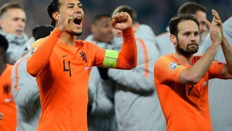 Голландия возвращается накрупные турниры. Фото AFP