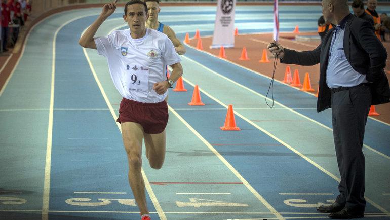 Победный финиш Степана Перегудова. Фото Александр Орешников
