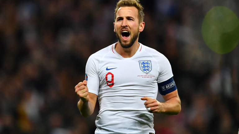 Нападающий сборной Англии Харри Кейн. Фото Reuters
