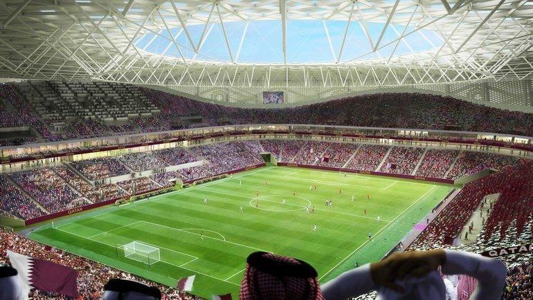 Проект стадиона «Аль-Тумама» (Доха). Фото AFP