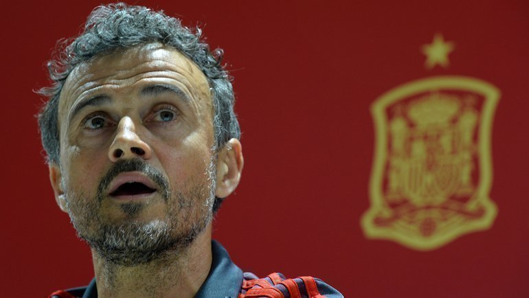 Луис Энрике. Фото AFP