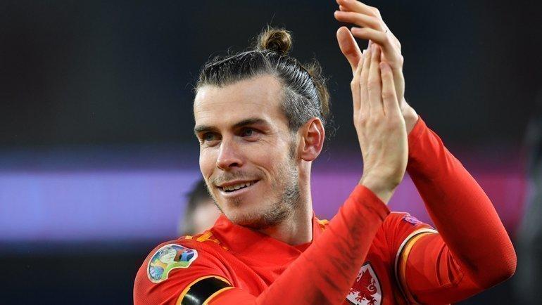 19ноября. Кардифф. Уэльс— Венгрия— 2:0. Гарет Бэйл. Фото AFP