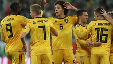 Сборная России дважды проиграла Бельгии— лидеру рейтинга ФИФА вотборе Евро-2020, атеперь командам предстоит встреча вгруппе финального турнира.