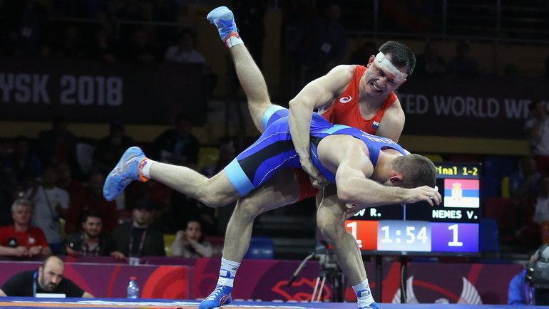 Двукратный олимпийский чемпиона Роман Власов. Фото Григорий Аванян