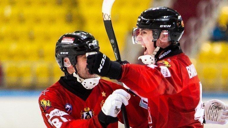 «СКА-Нефтяник» вышел вединоличные лидеры чемпионата. Фото «СКА-Нефтяник»