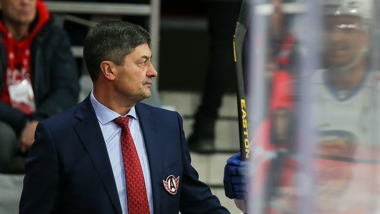 Андрей Мартемьянов. Фото ХК «Автомобилист»