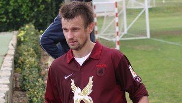 Сергей Семак вовремя выступлений за «Рубин».