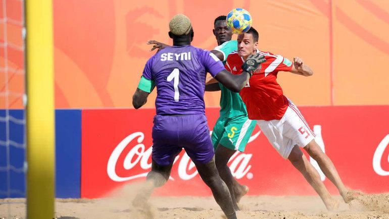 Сенегал— Россия— 7:8. Фото http://www.beachsoccer.ru/