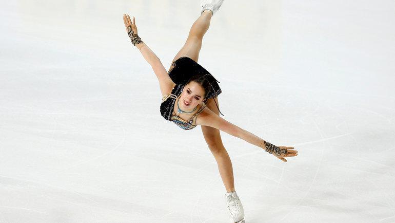 Алина Загитова. Фото Reuters