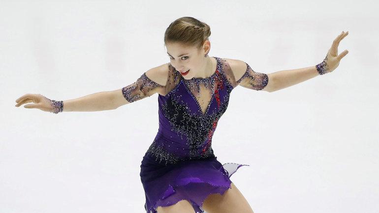 23ноября. Саппоро. Алена Косторная. Фото Kyodo, Reuters