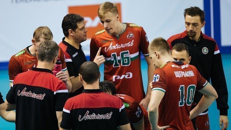 Новосибирский «Локомотив»— лидер мужской Суперлиги. Фото ВК «Локомотив» Новосибирск