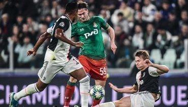 Алексей Миранчук (вцентре) произвел впечатление двумя голами вдвух матчах с «Ювентусом».