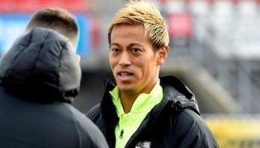 Кейсуке Хонда: первый матч вголландской команде Леонида Слуцкого.