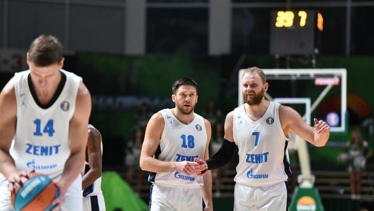 УНИКС— Зенит— 80:93. Фото http://basket.fc-zenit.ru/