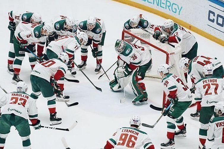 «АкБарс»— лидер регулярного чемпионата КХЛ. Фото ХК «АкБарс», instagram.com/hcakbars