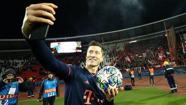 Левандовски отобрал рекорд Лиги чемпионов уЛуиза Адриану