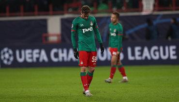 26ноября. Москва. «Локомотив»— «Байер»— 0:2. Алексей Миранчук.