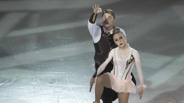 Алексей Рогонов и Кристина Астахова. Фото Ксения Нуртдинова