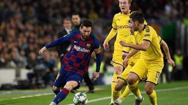 В700-м матче за «Барселону» Лионель Месси забил гол исделал две результативные передачи