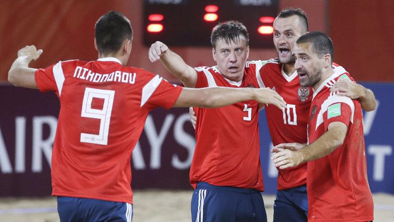 Сборная России обыграла Бразилию ивышла вполуфинал! Фото РФС