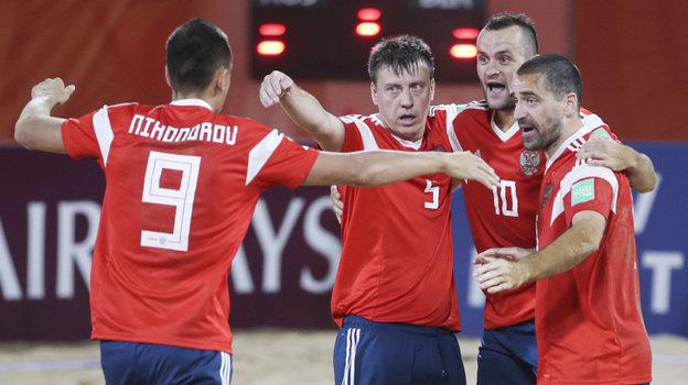 Сенсация впляжном футболе Россия обыграла Бразилию