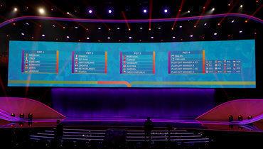 Онлайн жеребьевки чемпионата Европы 2020 года.