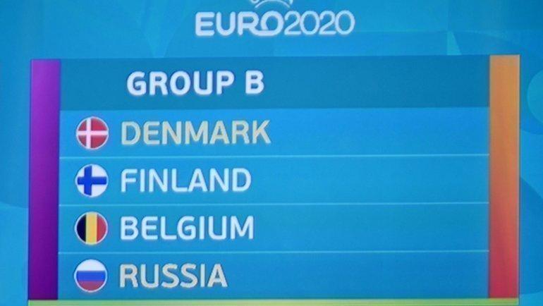Группа BнаЕвро-2020. Фото AFP