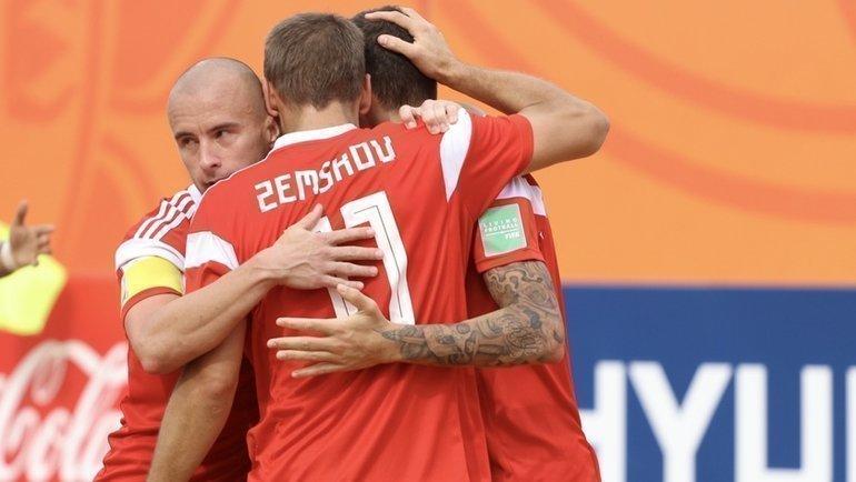 Сборная России— бронзовый призер чемпионата мира. Фото https://twitter.com/APFfutbolPlaya