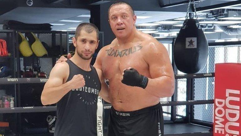 Эдгар Гукасян (слева) иМихаил Кокляев. Фото Instagram