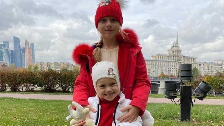 Дочери Дарьи иДениса Глушакова. Фото изличного архива