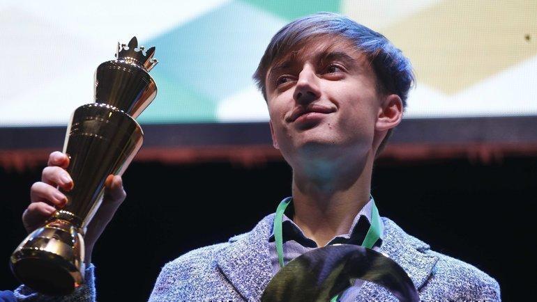 Даниил Дубов— победитель прошлогоднего чемпионата мира порапиду. Фото Антон Ваганов