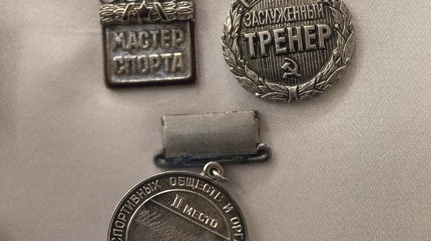 """Медали Юрия Шикунова. Фото Юрий Голышак, """"СЭ"""""""