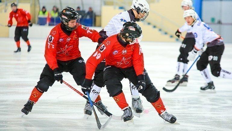 Хоккеисты «СКА-Нефтяника». Фото ХК «СКА-Нефтяник»
