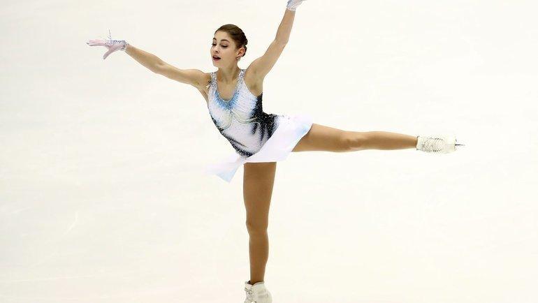 Алена Косторная. Фото AFP