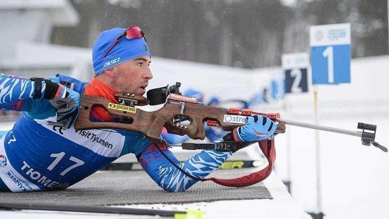 Дмитрий Малышко. Фото Instagram.com/russianbiathlon/