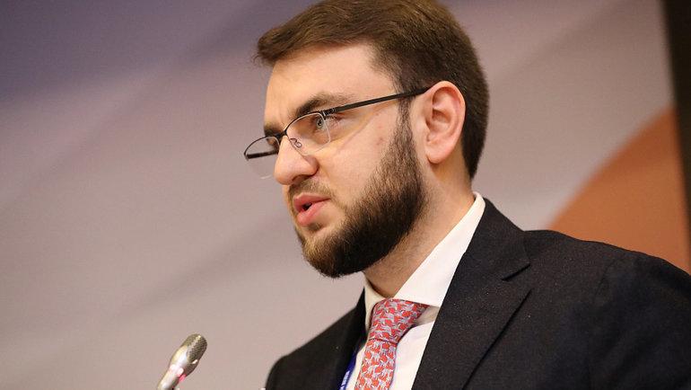 Председатель правления федерации регби России Станислав Дружинин. Фото Анастасия Осипова