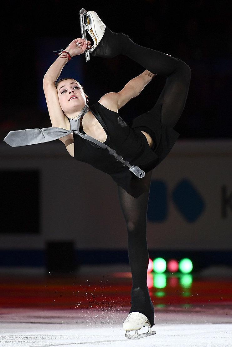 8декабря. Турин. Показательное выступление победительницы финала «Гран-при» Алены Косторной.