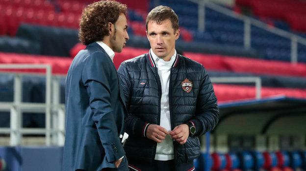 Роман Бабаев (слева) иВиктор Гончаренко. Фото Денис Тырин