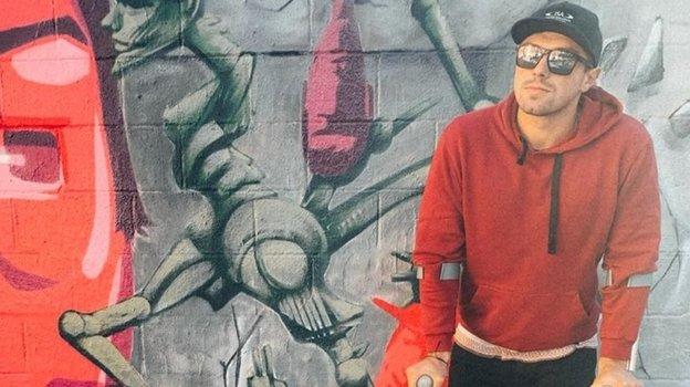 Андрей Крайтор после операции. Фото Изличного архива спортсмена