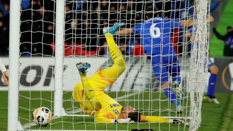 12декабря. Хетафе. «Хетафе»— «Краснодар»— 3:0. «Быки» пропустили три гола завторой тайм. Фото Reuters
