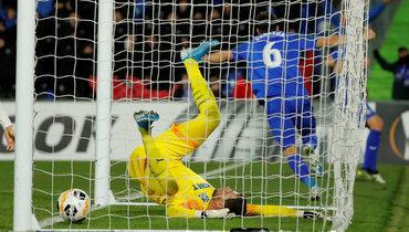 12декабря. Хетафе. «Хетафе»— «Краснодар»— 3:0. 76-я минута. Только что Леандро Кабрера поразил ворота Станислава Крицюка, открыв счет.