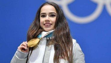 Олимпийская чемпионка Алина Загитова.