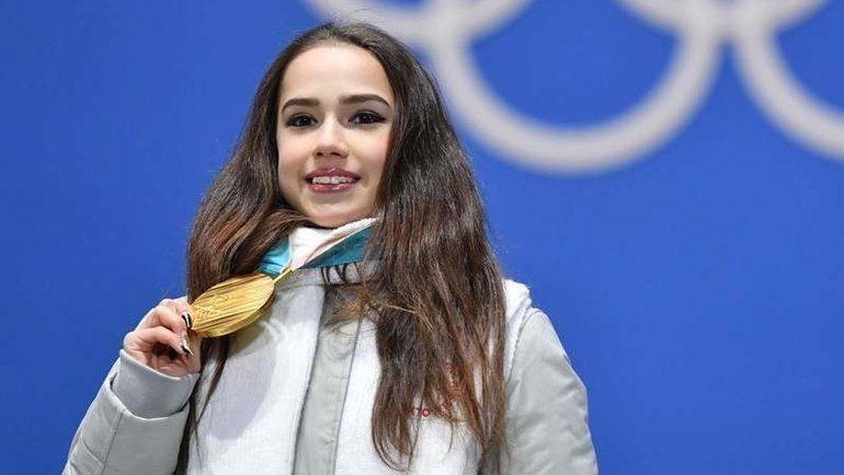 Олимпийская чемпионка Алина Загитова. Фото AFP