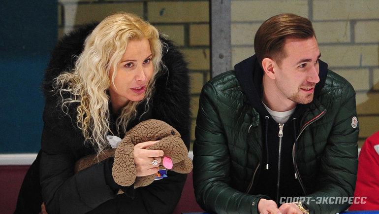 """Даниил Глейхенгауз (справа) и Этери Тутберидзе. Фото Федор Успенский, """"СЭ"""""""