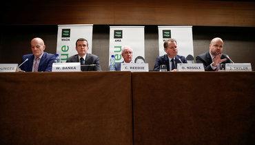 Заседание Всемирного антидопингового агентства.