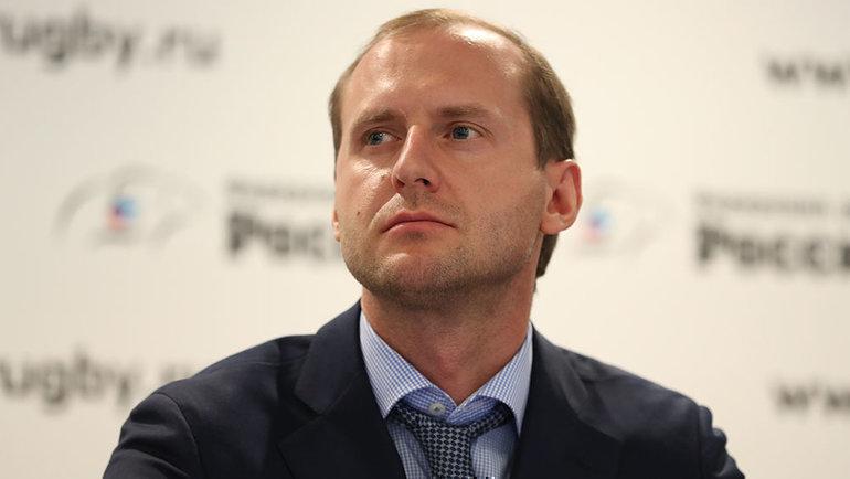 Заместитель председателя высшего совета  Федерации регби России Кирилл Яшенков. Фото Анастасия Осипова