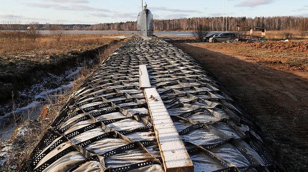Декабрь 2019 года. Никульское. Подводная лодка К-19.