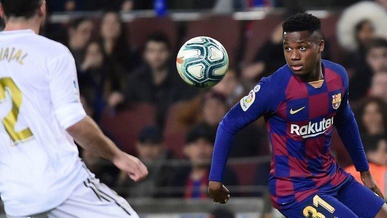 18декабря. Барселона. «Барселона»— «Реал»— 0:0. Ансу Фати.