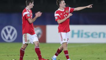 Россия— 38-я врейтинге ФИФА поитогам года